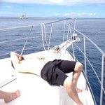 Jake between dives