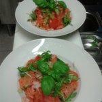Salada salmon