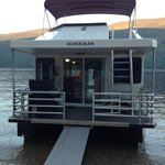Our houseboat rental