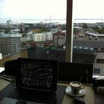 View of the harbour/good coffee
