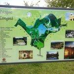 Mapa do Parque Tanguá
