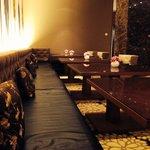 Hotel café lounge