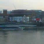 Water bus, Globe and Tate Modern