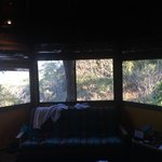 panoramic view from the bed villa #3