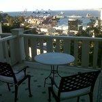 Private balcony. Room #10