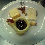 Petit plateau de fromages au sirop de Liège