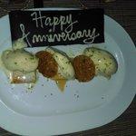 Anniversary Pistachio Ice Cream Dessert