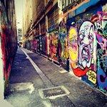 more art down lane ways