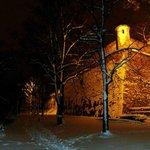 Bei Nacht und Schnee