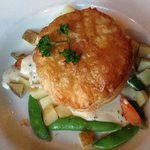 Chicken pot pie - deconstructed. 5th Avenue Grille