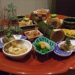 夕食「弥生」前菜