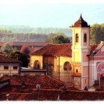 Albiano's historic church