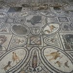 The best mosaics I've seen in Roman ruins.