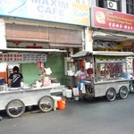 Road side food stall
