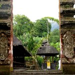 Pura Luhur Batukaru entrance gate