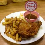 Southern Fried Chicken Chop #crispy #delicious