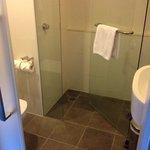 simple bathroom in King City View room