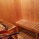 Sona bath in hotel ( heating room)
