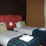 Вторая спальня с раздельными кроватями