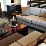 Living room of our junior suite