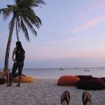 Relaxing at Ocean Vida