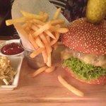 Tasty burger - great presentation
