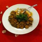Cena - Zucchine speziate (scusate avevamo già iniziato a mangiarle!)