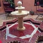 Fontana nel patio
