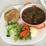 Ragout of beef with red wine