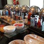 Mediocre breakfast buffet at Falaj Daris