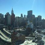 Vue sur l'Empire State Building