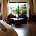 Villa room was clean, modern, spacious n cozy