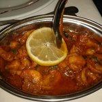 Crevettes massala