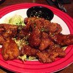 Chicken in JD sauce!