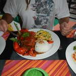 Hubbys chilli crab