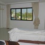 Zimmer mit Blick Richtung Fluss