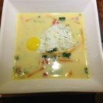 "El Huacatay: The BEST Soup - Urubamba-style ""Chupe de Quinoa"""