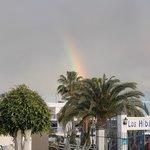 Rainbow over Los Hibicos
