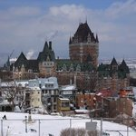 View of Chateau Frontenac from the Citadel