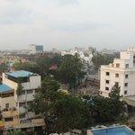 Blick über die Dächer von Chennai(Madras)