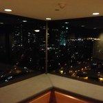 Вид из лифтового холла 24 этажа