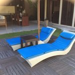 Day beds and decking