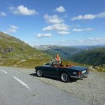 On the top (road no 243) from Aurland to Laerdal