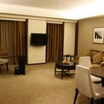 Executive Suite's spacious living room