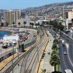Valparaiso a partir do Hotel Ibis