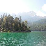 アイブ湖とツークシュピッツェ
