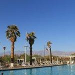 Swimming pool at Furnace Creek Ranch.