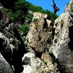 Canyoning adventures can be booked at the Lodge on-site Activity Centre