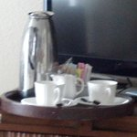 Coffee service very morning