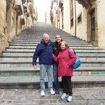 Caltagirone con la famiglia berger 16/03/2014  Siamo stati anche in questa citta per vedere l
